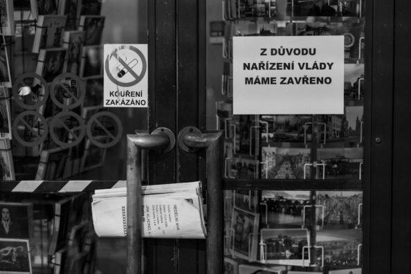 Koronavirus COVID-19 v Praze – očima fotografa